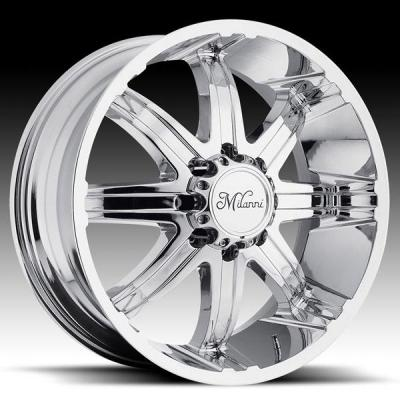 MILANNI WHEELS  KOOL WHIP-8 446 RWD CHROME RIM