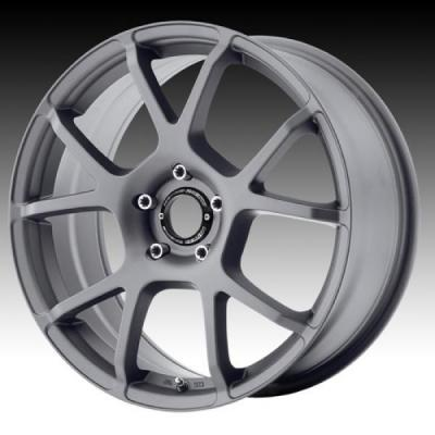 SPECIAL BUY WHEELS  MOTEGI RACING MR121 TITANIUM GRAY RIM PPT