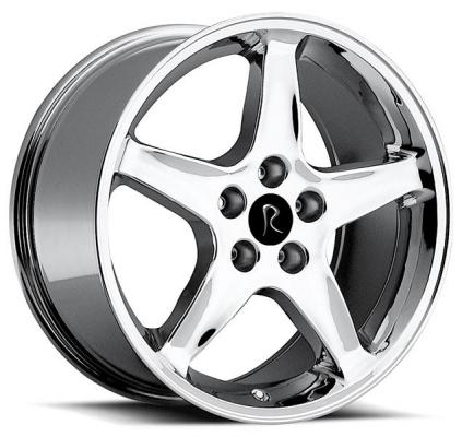 REV WHEELS  OE REPLICA 280 CHROME RIM