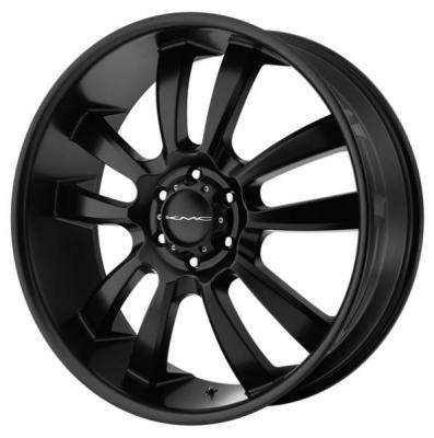 KMC WHEELS  KM673 SKITCH SATIN BLACK RIM