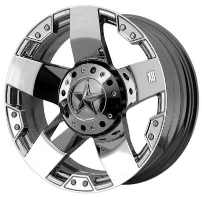 XD SERIES WHEELS  XD775 ROCKSTAR CHROME RIM