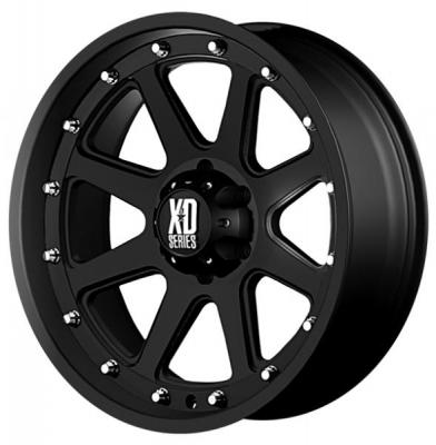 XD SERIES WHEELS  XD798 ADDICT MATTE BLACK RIM