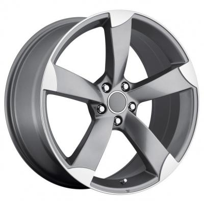 FACTORY REPRODUCTIONS WHEELS  AUDI A5 GUNMETAL MACHINED