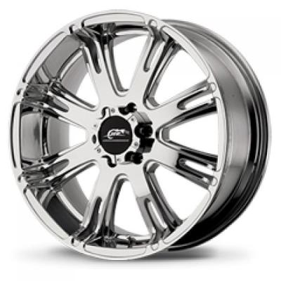 AMERICAN RACING WHEELS  AR708 BRIGHT PVD RIM