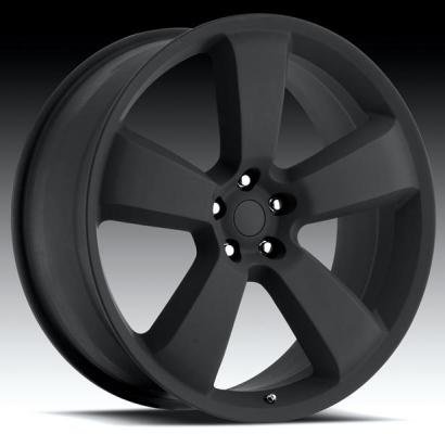 WHEEL REPLICAS WHEELS  V1150 CHARGER SRT8 SATIN BLACK RIM