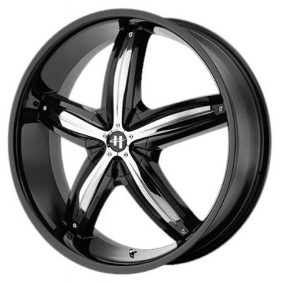 HELO WHEELS  HE844 GLOSS BLACK