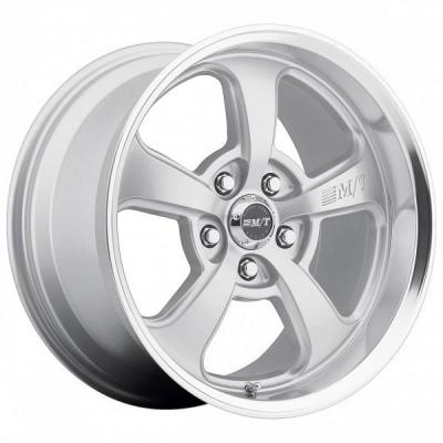 MICKEY THOMPSON WHEELS  STREET COMP SC-5 HYPER SILVER RIM