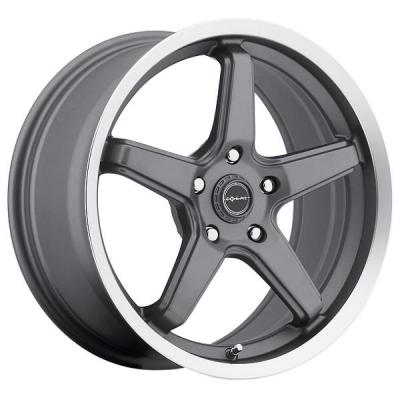 FOCAL WHEELS  HIGH V 429 ANTHRACITE RIM with DIAMOND CUT LIP