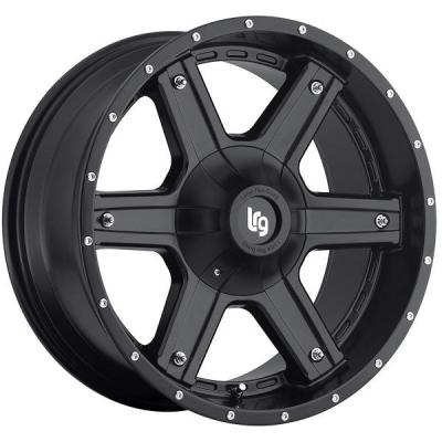 LRG WHEELS  101 SLANT SATIN BLACK RIM