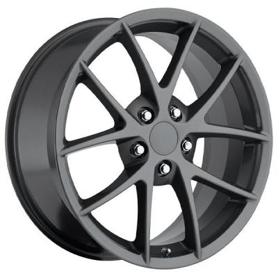 FACTORY REPRODUCTIONS WHEELS  CORVETTE Z06 SPYDER 2009 GREY RIM