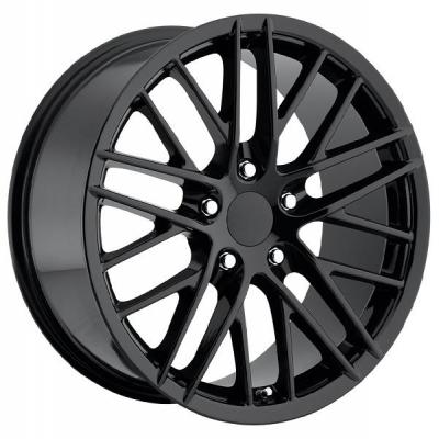 FACTORY REPRODUCTIONS WHEELS  CORVETTE C6 ZR1 2009 GLOSS BLACK RIM