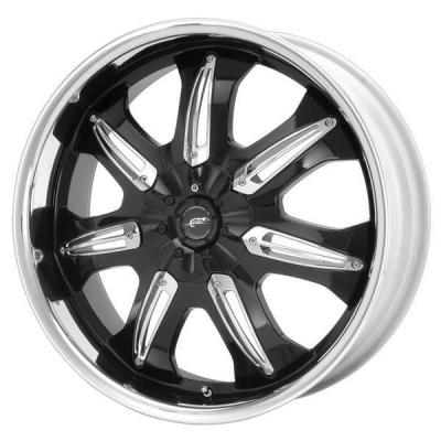 SPECIAL BUY WHEELS  DALE EARNHARDT JR DJ381 BLACK MACHINED PPT