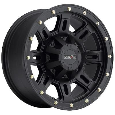 VISION WHEELS - EARLY BLACK FRIDAY SPECIALS!   INCLINE 400 RWD OFF-ROAD MATTE BLACK RIM