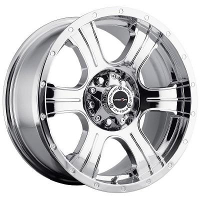 V-TEC WHEELS  ASSASSIN 396 RWD CHROME RIM