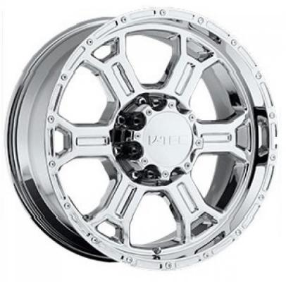 V-TEC WHEELS  RAPTOR 372 RWD CHROME RIM