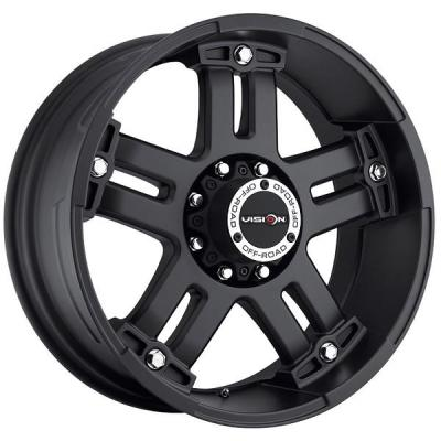 VISION WHEELS - EARLY BLACK FRIDAY SPECIALS!   WARLORD 394 RWD OFF-ROAD MATTE BLACK RIM
