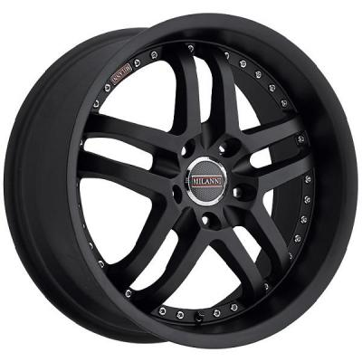 MILANNI WHEELS  KAPRI 9012 FWD SATIN BLACK RIM