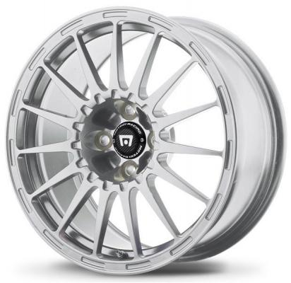 SPECIAL BUY WHEELS  MOTEGI RACING MR119 SILVER RIM PPT
