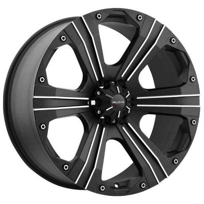 BALLISTIC WHEELS  OUTLAW 902 FLAT BLACK RIM