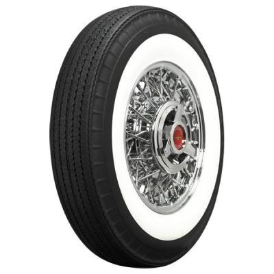 AMERICAN  CLASSIC TIRE  WIDE WHITE WALL STEEL BELTED RADIAL