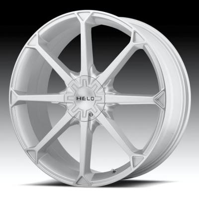 SPECIAL BUY WHEELS  HELO HE870 SILVER MACHINED RIM PPT