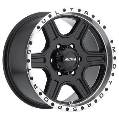 ULTRA WHEELS - EARLY BLACK FRIDAY SPECIALS!   VAGABOND 176 GLOSS BLACK RIM with DIAMOND CUT LIP