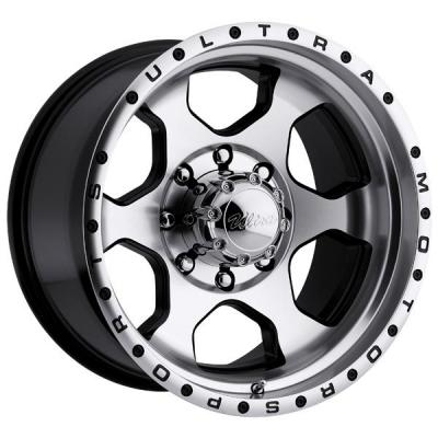 ULTRA WHEELS - EARLY BLACK FRIDAY SPECIALS!   ROGUE 175 BLACK RIM with DIAMOND CUT FACE 8 LUG