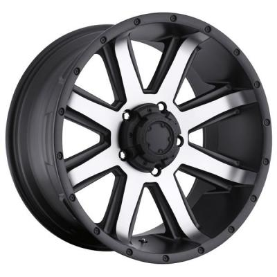 ULTRA WHEELS - LABOR DAY SALE!  CRUSHER 195 BLACK RIM with DIAMOND CUT FACE