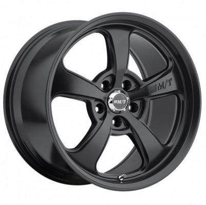 SPECIAL BUY WHEELS  MICKEY THOMPSON STREET COMP SC-5 FLAT BLACK RIM PPT