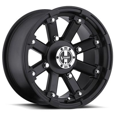 VISION WHEELS  LOCK OUT 393 ATV MATTE BLACK RIM