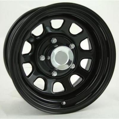 PRO COMP ALLOYS WHEELS  STEEL SERIES 52 GLOSS BLACK POWDER COAT RIM - Cap Not Included