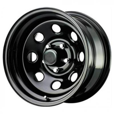 PRO COMP ALLOYS WHEELS  STEEL SERIES 97 GLOSS BLACK RIM - Cap Not Included