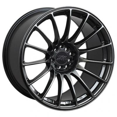 XXR WHEELS  550 CHROMIUM BLACK RIM