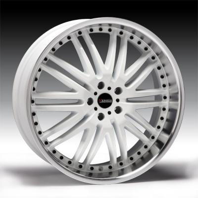SPECIAL BUY WHEELS  VERSUS ENDURO GLOSS WHITE RIM with DIAMOND LIP