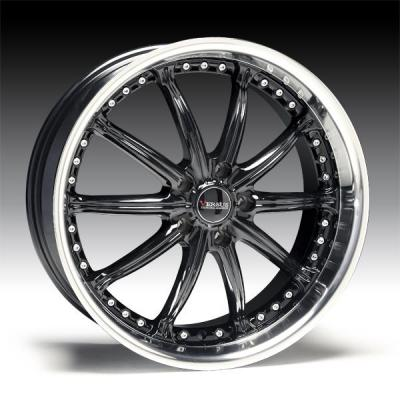 SPECIAL BUY WHEELS  VERSUS VENDETTA GLOSS BLACK RIM with DIAMOND LIP