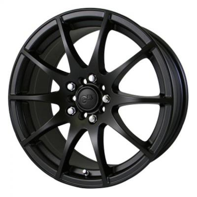SPECIAL BUY WHEELS  GFX G10 MATTE BLACK RIM