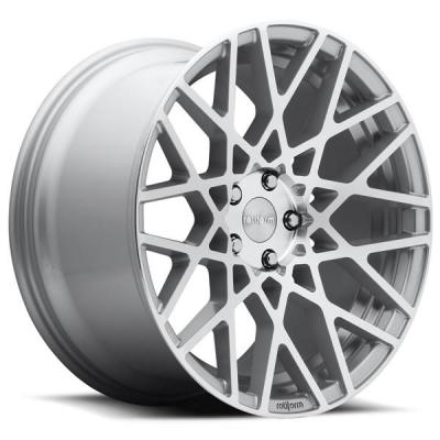 ROTIFORM CAST COLLECTION  BLQ R110 SILVER MACHINED RIM