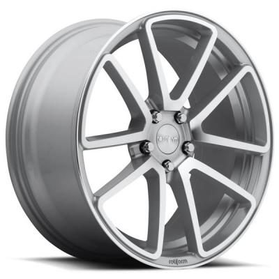 ROTIFORM CAST COLLECTION  SPF R120 SILVER MACHINED RIM
