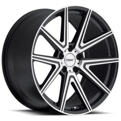 TSW WHEELS - EARLY BLACK FRIDAY SPECIALS!   ROUGE GUNMETAL RIM with MIRROR CUT FACE