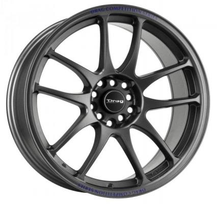 DRAG WHEELS  DR31 CHARCOAL GRAY FULL PAINTED RIM