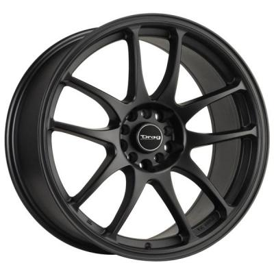 DRAG WHEELS  DR31 FLAT BLACK FULL PAINTED RIM