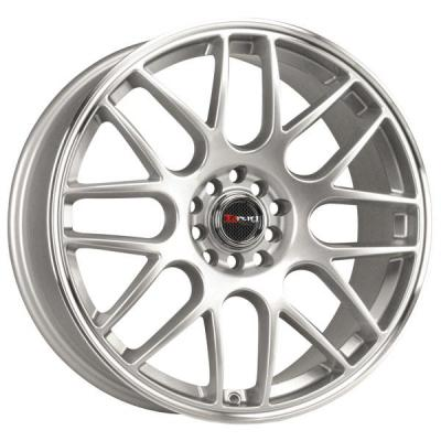 DRAG WHEELS  DR34 SILVER RIM with MACHINED LIP