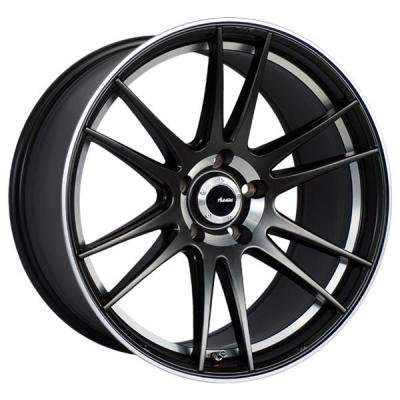 ADVANTI WHEELS - EARLY BLACK FRIDAY SPECIALS!   OP OPTIMO MATTE BLACK RIM with MACHINED LIP