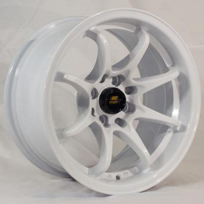 MST WHEELS  MT04 GLOSSY WHITE RIM