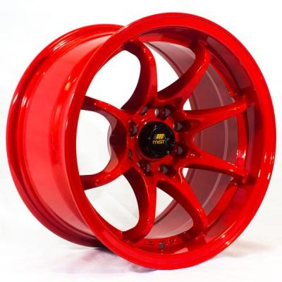 MST WHEELS  MT04 RED RIM