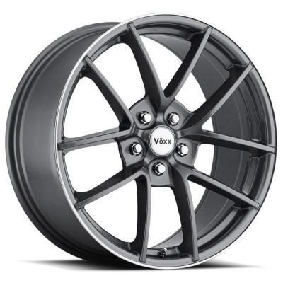 VOXX WHEELS  ASTI GRAPHITE RIM with MACHINED FLANGE