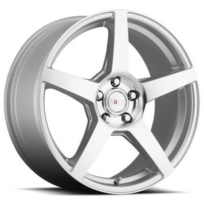 VOXX WHEELS  MGA SILVER RIM with MIRROR MACHINED FACE