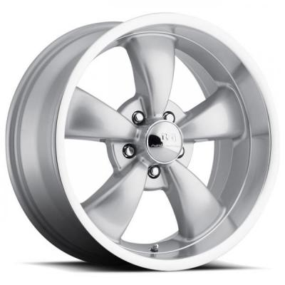 B&G ROD WORKS WHEELS  RODDER SILVER RIM with MACHINED LIP