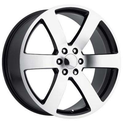 FACTORY REPRODUCTIONS WHEELS  CHEVY TRAILBLAZER SS STYLE 32 BLACK MACHINED FACE RIM