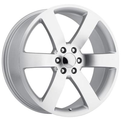 FACTORY REPRODUCTIONS WHEELS  CHEVY TRAILBLAZER SS STYLE 32 SILVER MACHINED FACE RIM